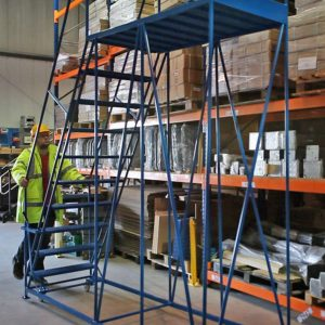 Tall movable access platform