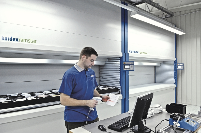 Product scanning for automated storage