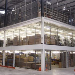 Multi storey mezzanine floors
