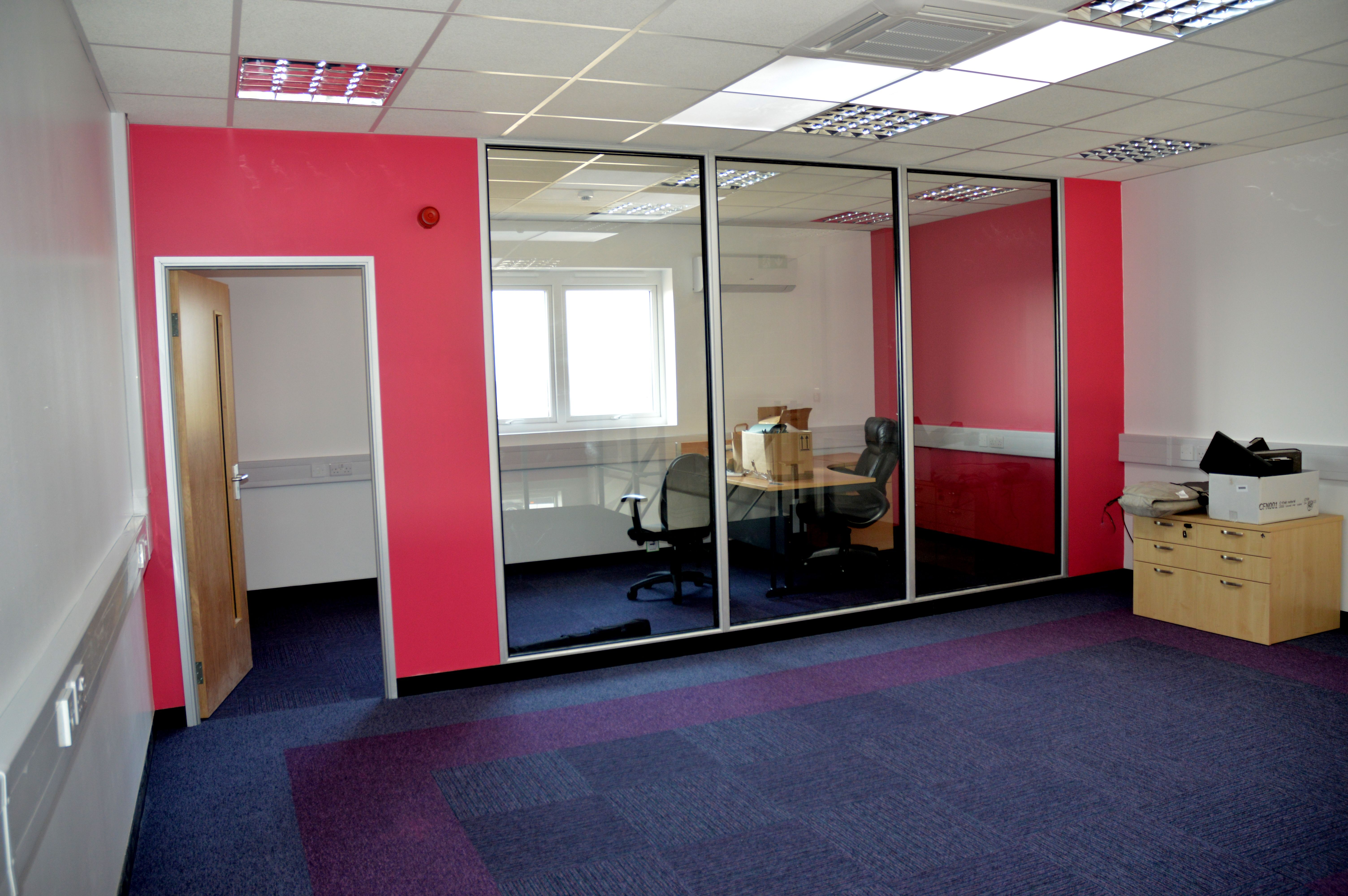 Office refurbishment Chorley North West UK
