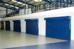 Warehouse shutters installation