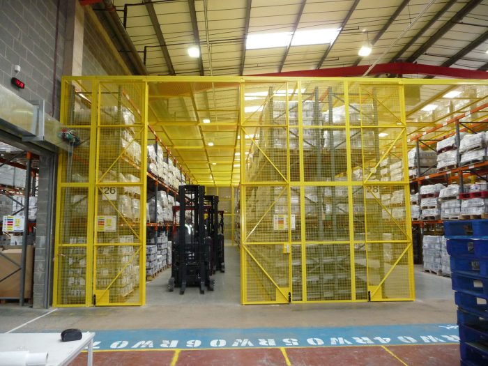 Aerosol and Explosives Cage