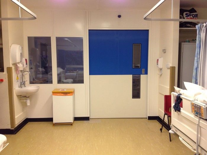 Clean rooms installation