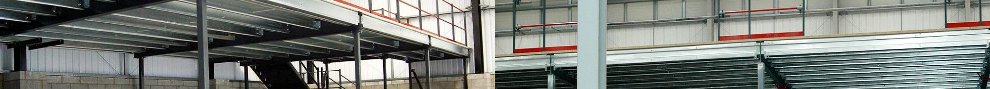 Mezzanines and mezzanine flooring fitted