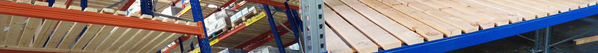Pallet racking decking