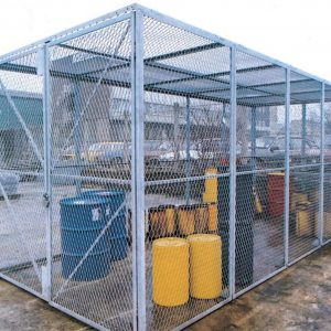 Mesh safety enclosure