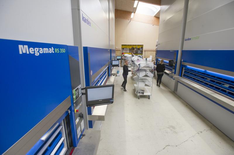 Automated Storage Carousel