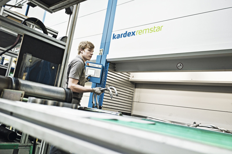 Kardex Remstar automated storage solution