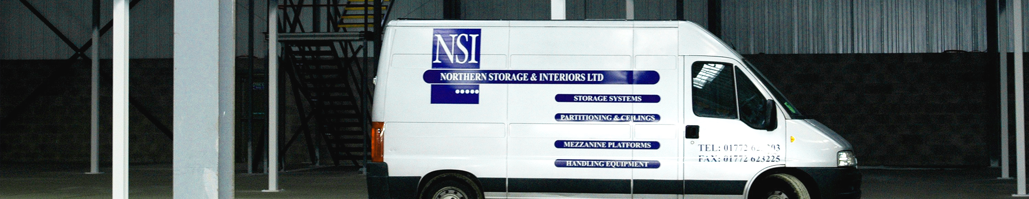 NSI Projects branded van