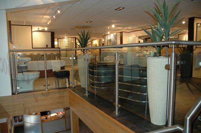 Mezzanine floor design for small office