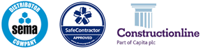 SEMA, Safe Contractor and Construction online accreditation logos