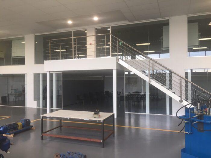 Office mezzanines