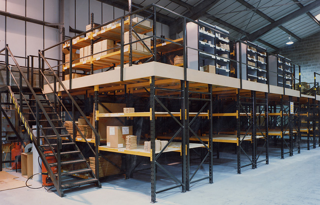 Mezzanine floors and mezzanines for offices - NSI Projects